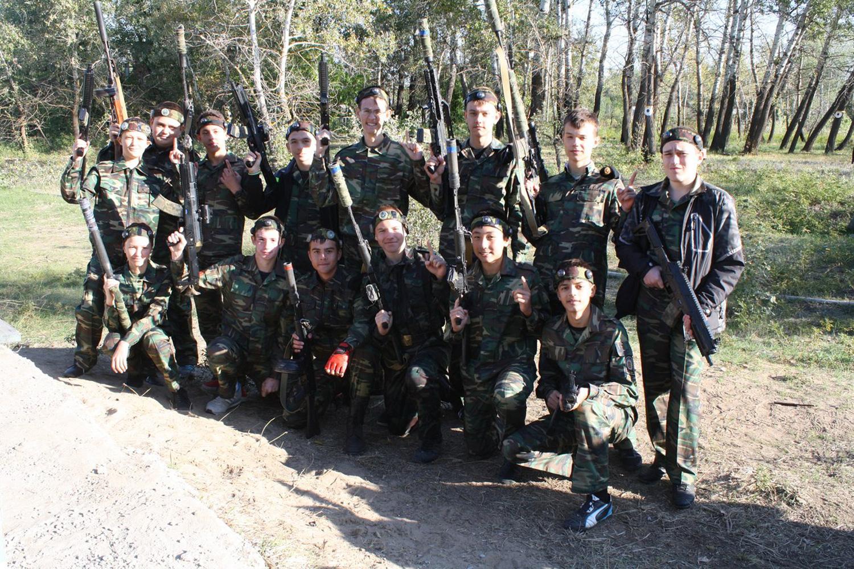 Военно - полевой выход (1 взвод 9 роты).