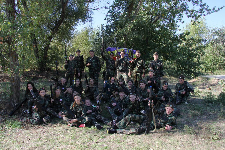 Военно - полевой выход (2 взвод 9 роты).