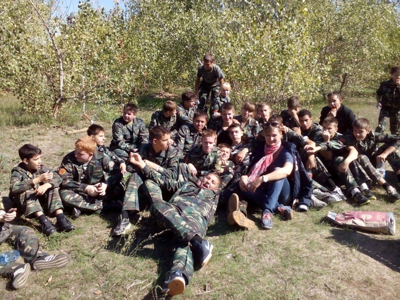 Военно — полевой выход (3 взвод 9 роты).