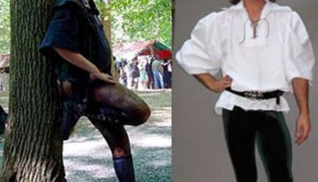 Мужчины будут носить леггинсы0
