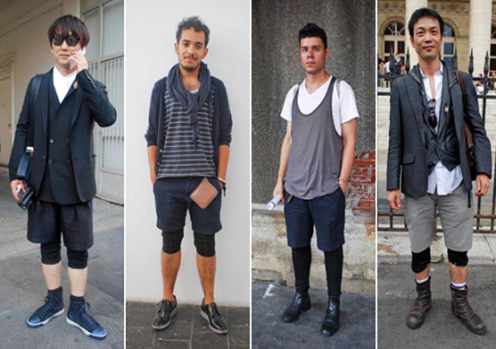 Мужчины будут носить леггинсы4