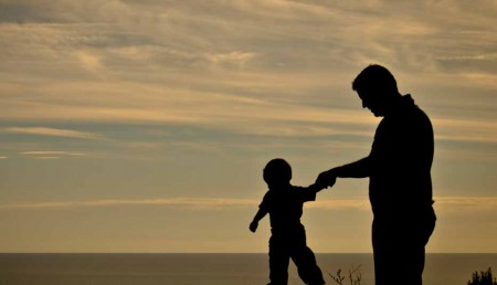 Роль папы в воспитании сына8