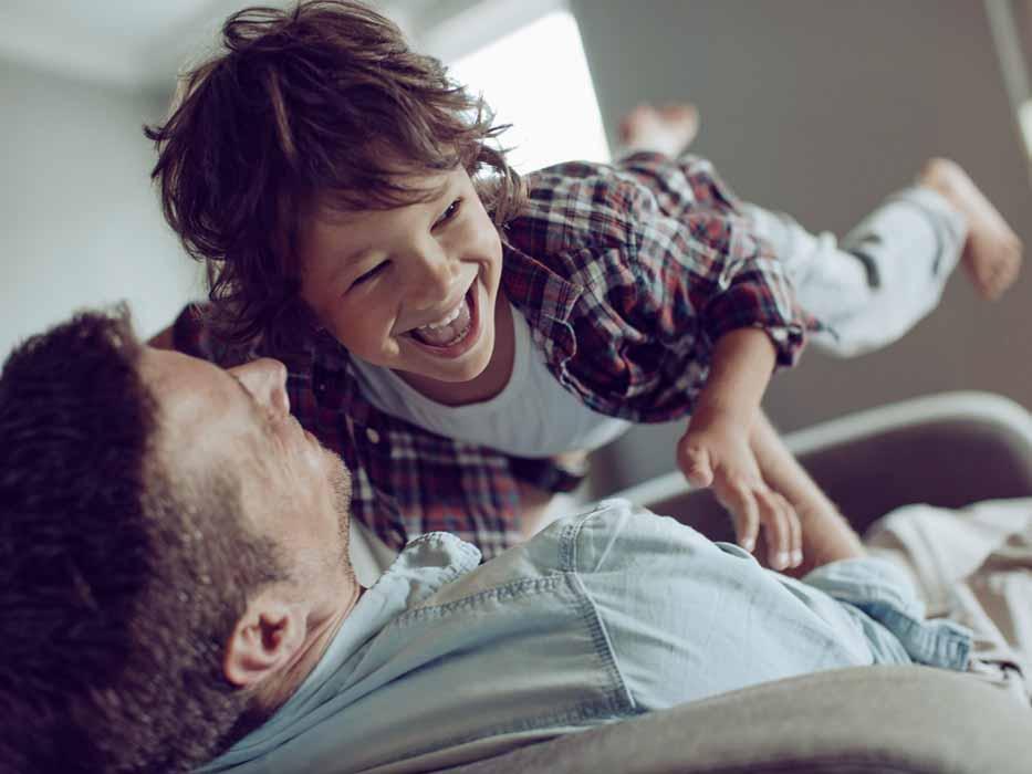 Роль папы в воспитании сына9