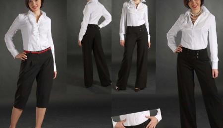 Как одеваться невысоким девушкам2